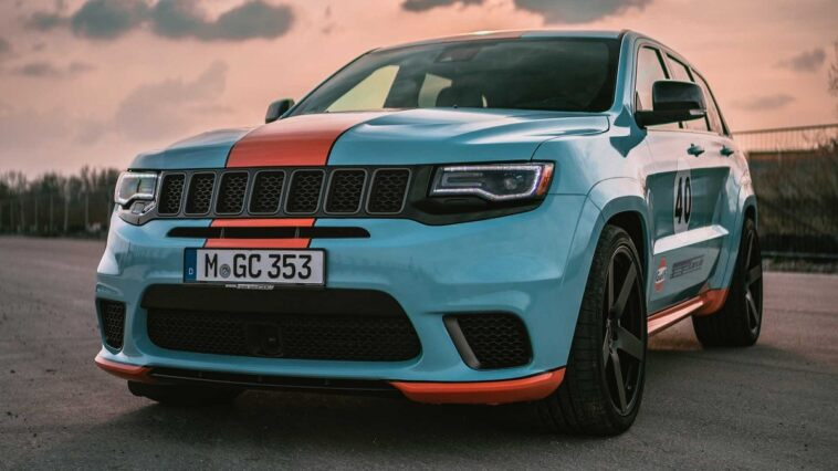 Jeep Grand Cherokee Trackhawk GeigerCars