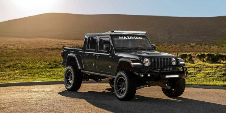 Maximus 1000 Jeep Gladiator Hennessey