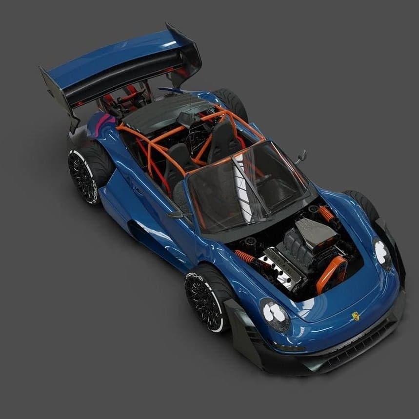 Porsche 911 Hemi V8