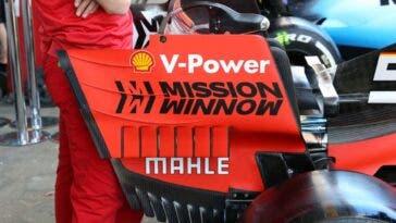 Ferrari rimuove il logo Mission WinNow dal GP del Canada