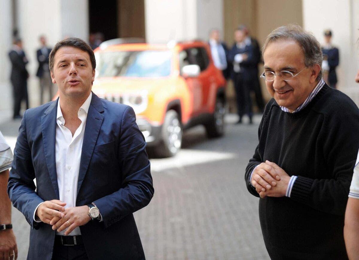 Sergio Marchionne e Renzi Fca Segreti
