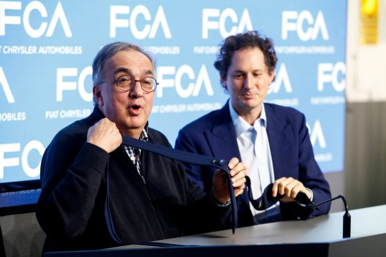 Marchionne e John Elkann Intervista Moncalvo
