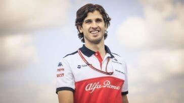 Antonio Giovinazzi Alfa Romeo Racing