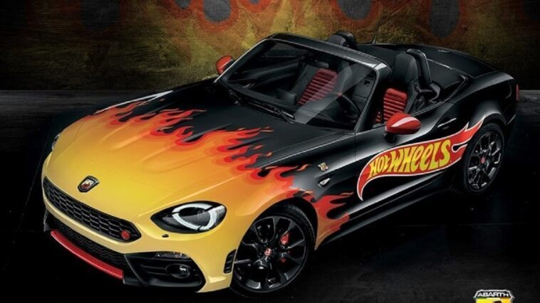 Abarth 124 Spider Hot Wheels
