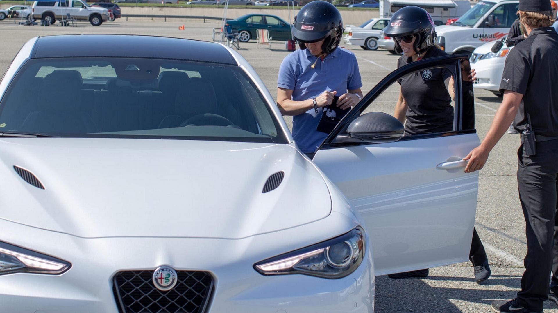 Alfa Romeo Giulia Quadrifoglio evento BMW