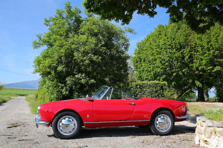 Alfa Romeo Giulietta Spider Bonhams asta