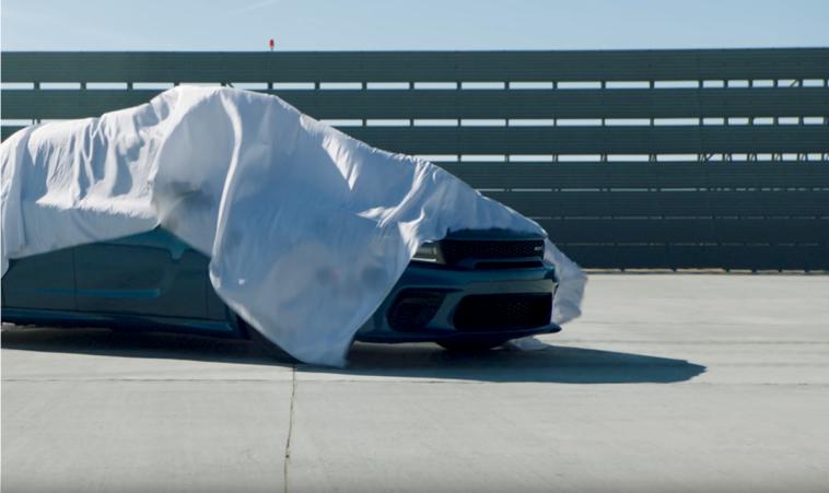 Dodge Charger Hellcat Redeye teaser