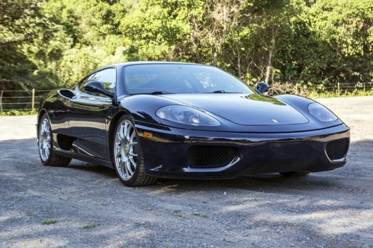 Ferrari 360 Modena Blu Pozzi