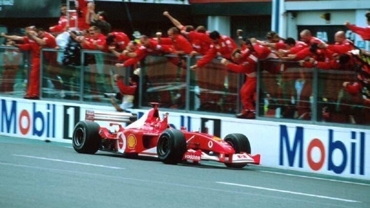 Ferrari F2002 Michael Schumacher