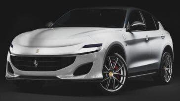 Ferrari Purosangue render