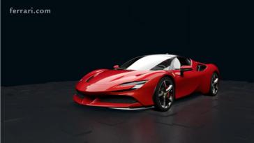 Ferrari SF90 Stradale sistema ibrido plug-in
