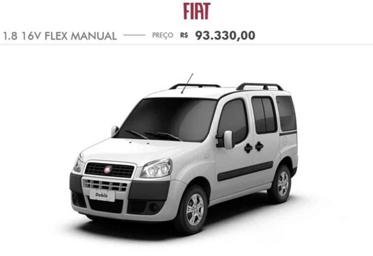 Fiat Doblò 2020 Brasile