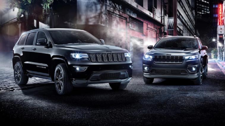 Jeep Cherokee e Grand Cherokee Night Eagle