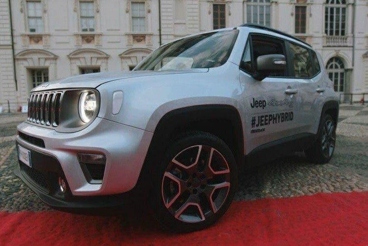 Jeep Renegade ibrido plug-in