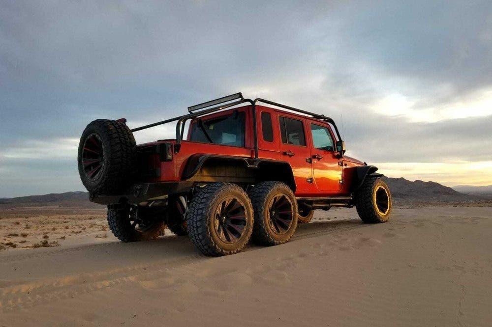 Jeep Wrangler Unlimited Custom 6x6 asta