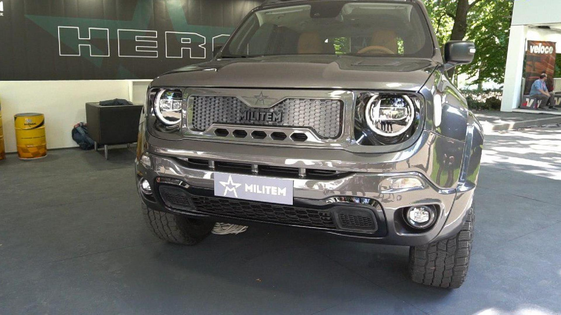 Militem Hero Jeep Renegade
