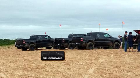 Ram Rebel TRX Silver Lake Sand Dunes