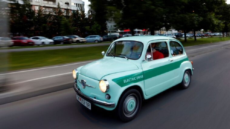 Zastava 750 Fiat 600 full electric