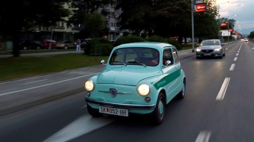Zastava 750 Fiat 600 full electric
