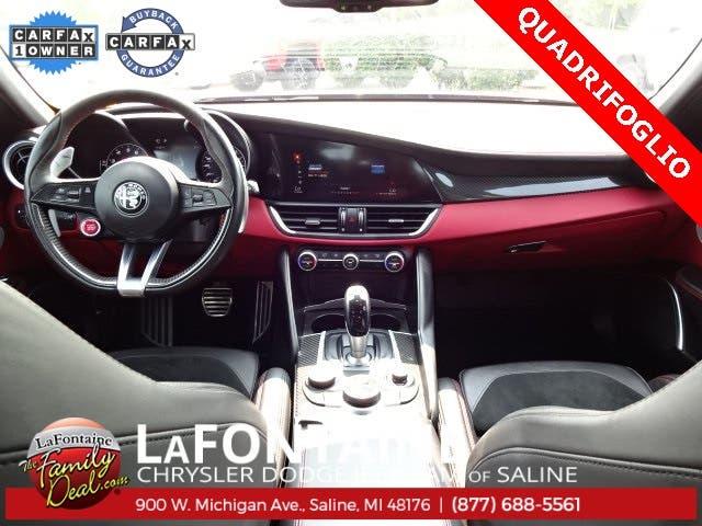 Alfa Romeo Giulia Quadrifoglio Car and Driver