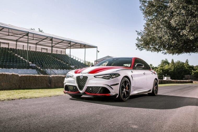 Alfa Romeo Giulia Quadrifoglio Racing