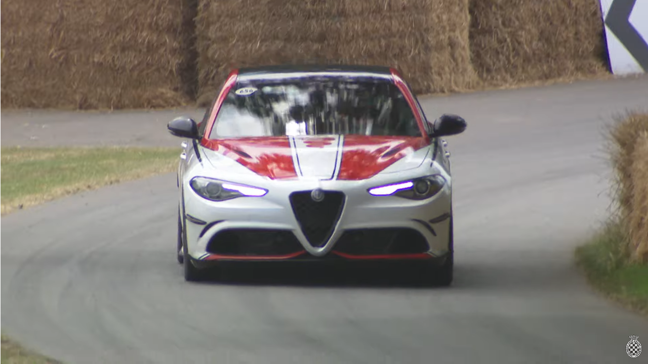 Alfa Romeo Giulia Quadrifoglio Racing Goodwood FoS 2019