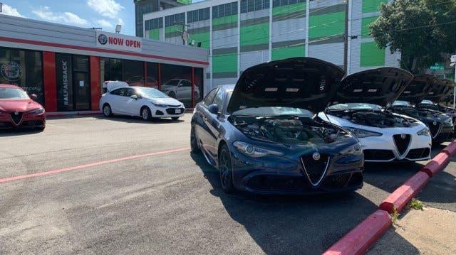 Alfa Romeo confiscate 50 vetture