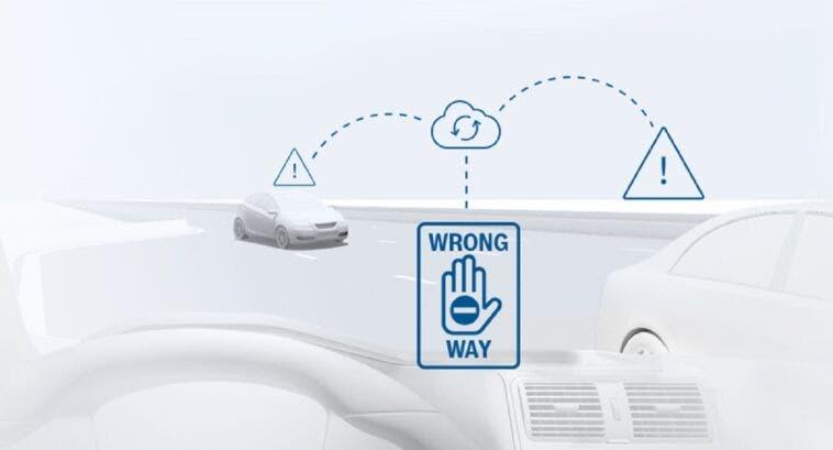 Bosch Wrong-way driver warning