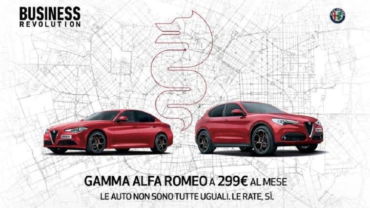 Business Revolution Alfa Romeo