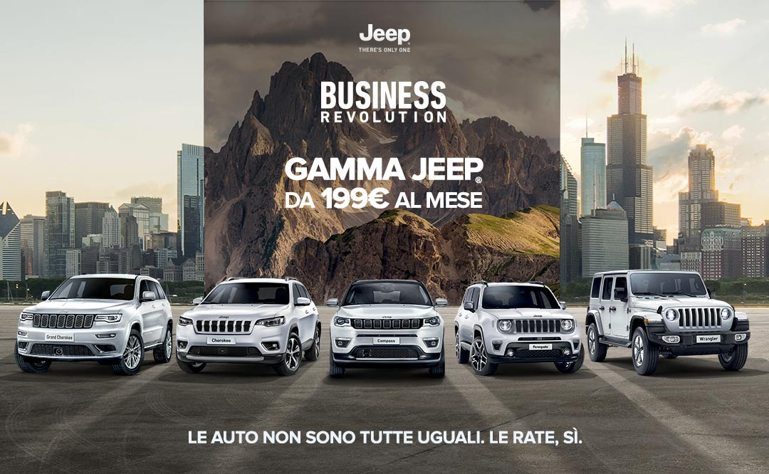 Business Revolution Jeep