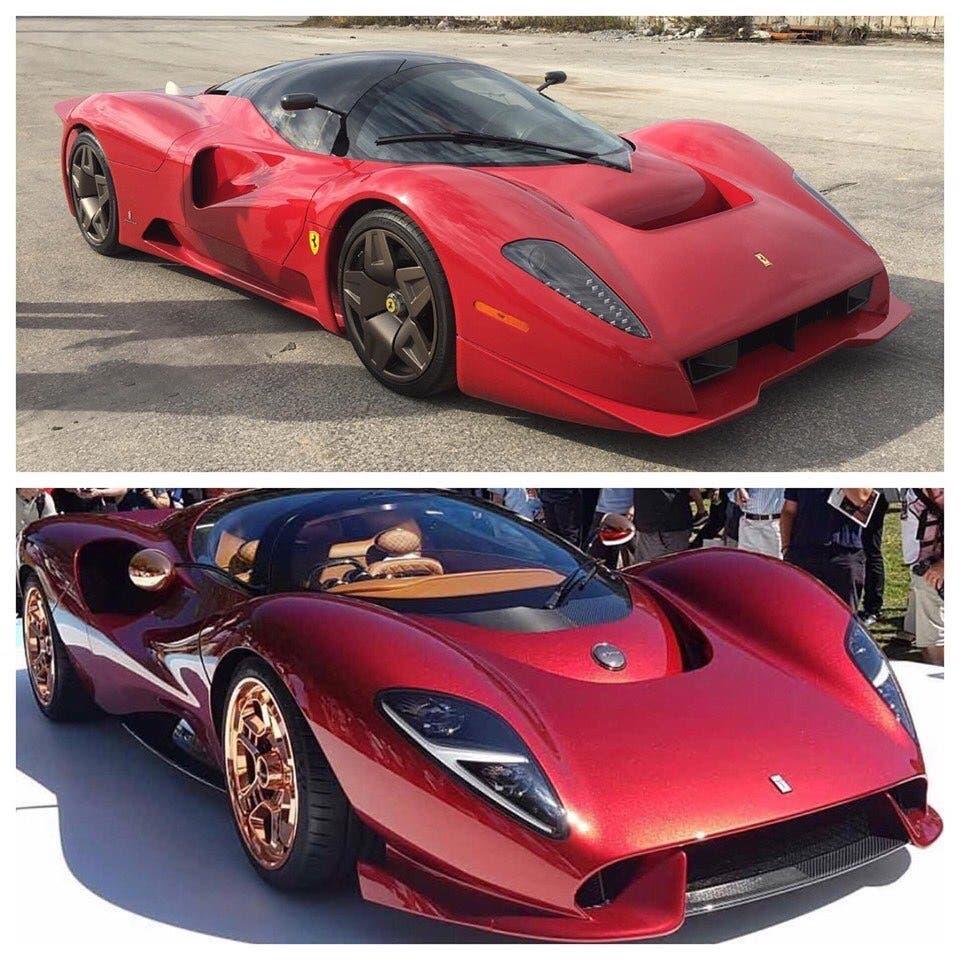 De Tomaso P72 vs Ferrari P4/5