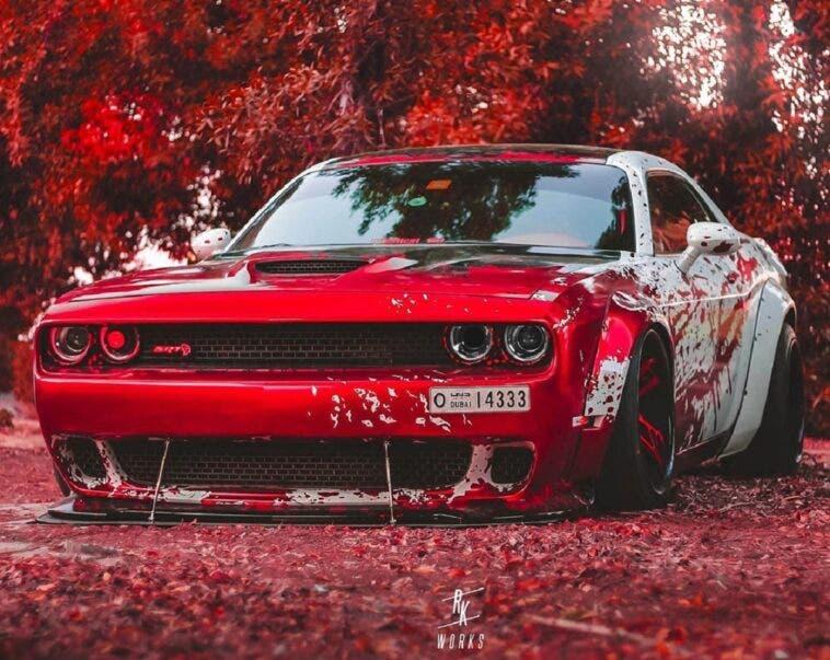 Dodge Challenger SRT Hellcat Liberty Walk