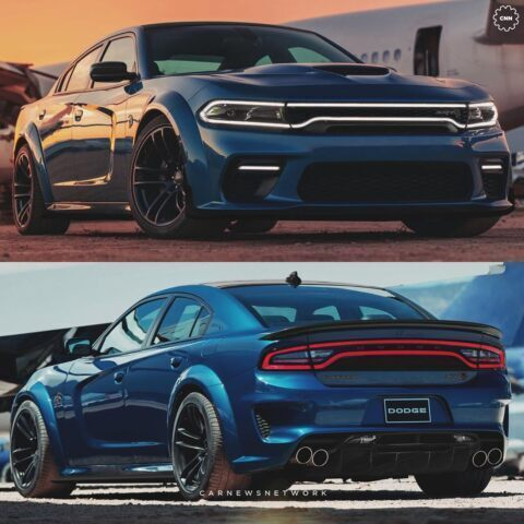 Dodge Charger Hellcat Widebody render
