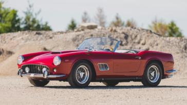 Ferrari 250 California SWB asta