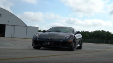 Ferrari 599 GTB test velocità
