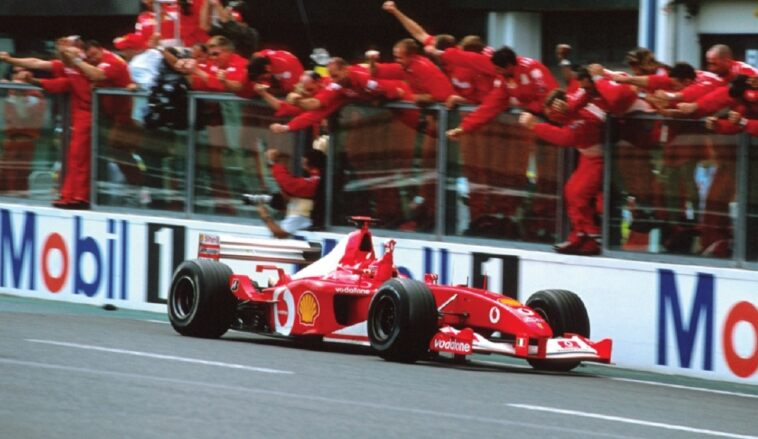 Ferrari F2002 asta