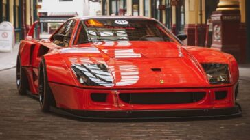 Ferrari F40 widebody