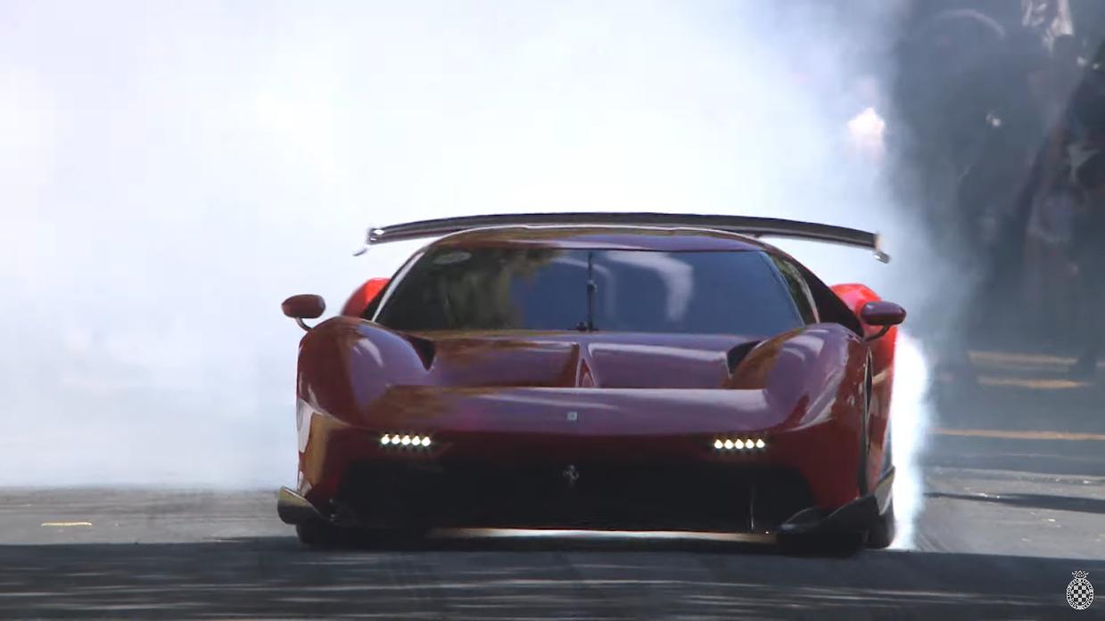 Ferrari P80/C Goodwood FoS 2019