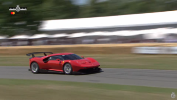 Ferrari P80/C Goodwood FoS 2019