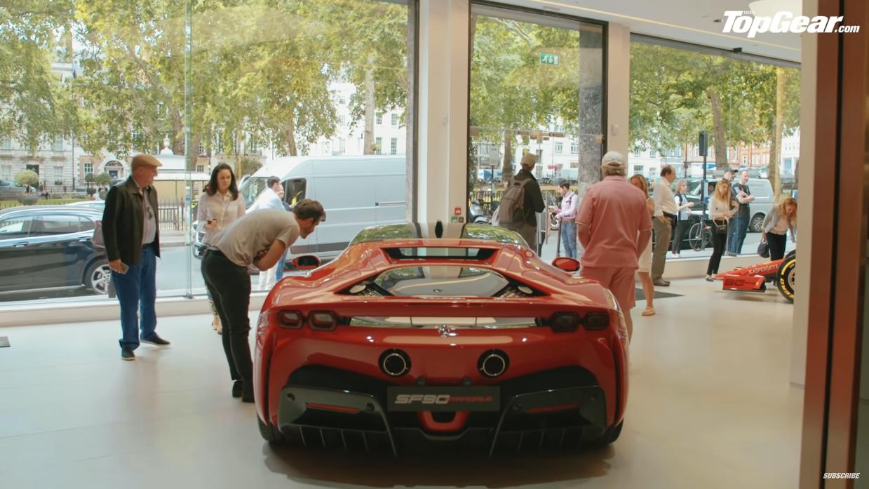 Ferrari SF90 Stradale Top Gear