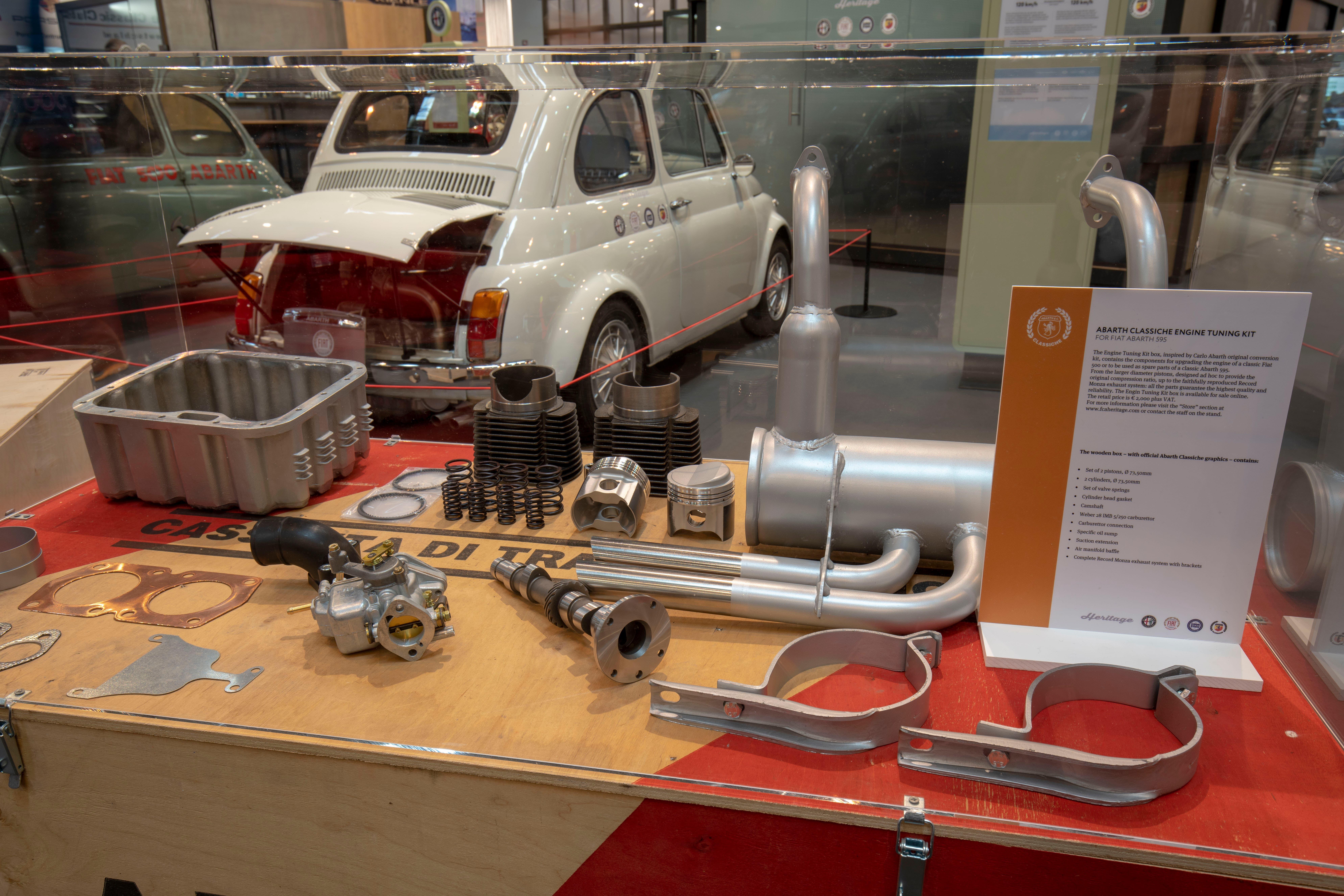 Fiat 500 Cassetta di trasformazione Abarth Classiche 595