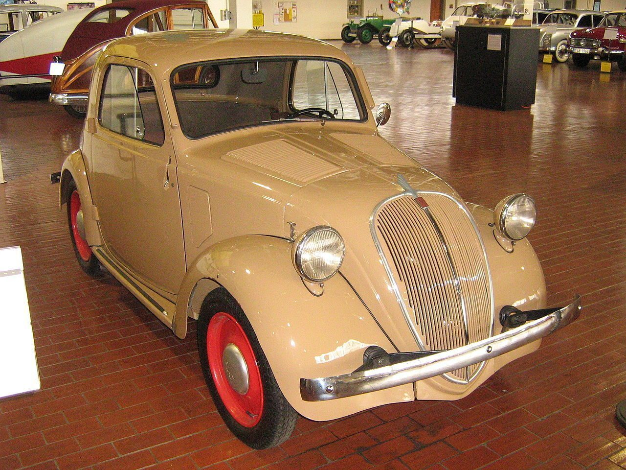 Fiat 500 Coupé Topolino