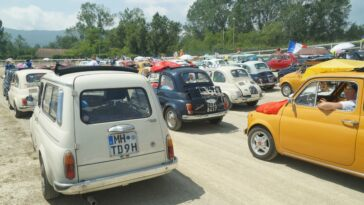 Fiat 500 Meeting Garlenda 2019 foto