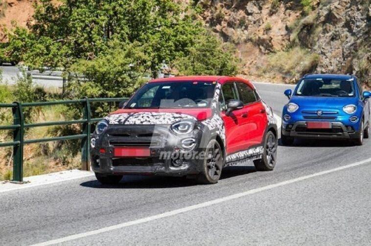 Fiat 500X Sport foto spia
