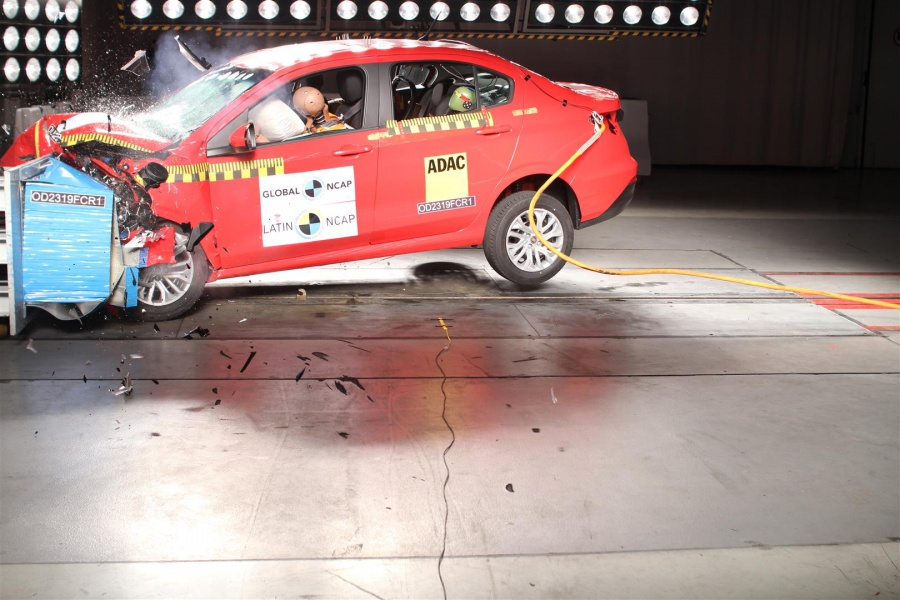 Fiat Argo Cronos Latin NCAP