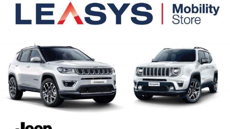Jeep Compass e Renegade Leasys