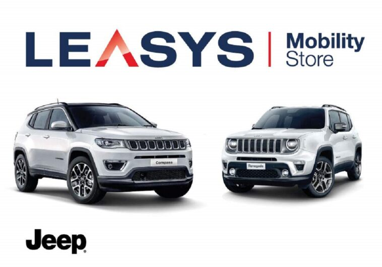 Jeep Compass e Renegade Leasys