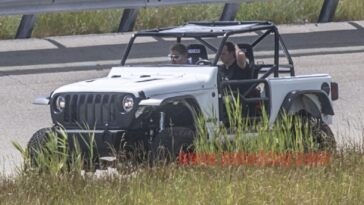 Jeep Wrangler one-off prototipo