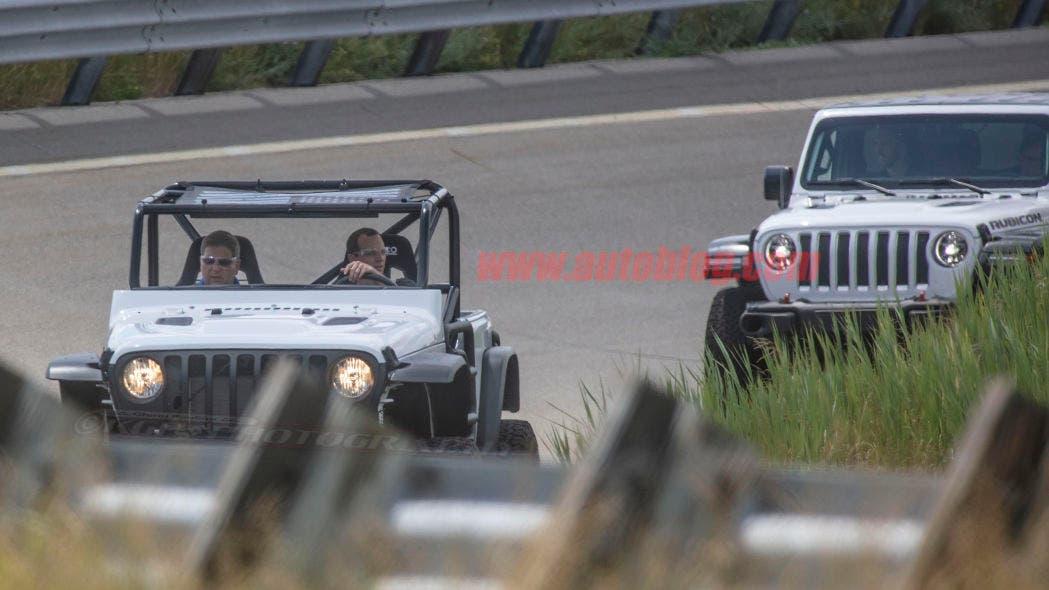 Jeep Wrangler one-off prototipo