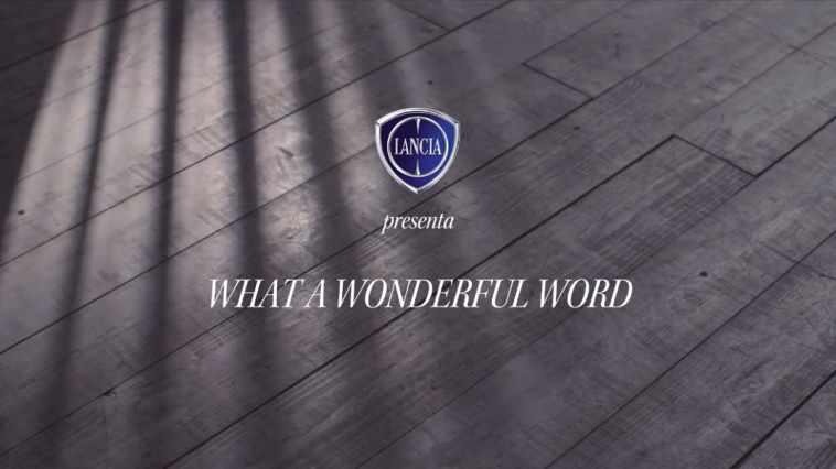 Lancia What a Wonderful Word